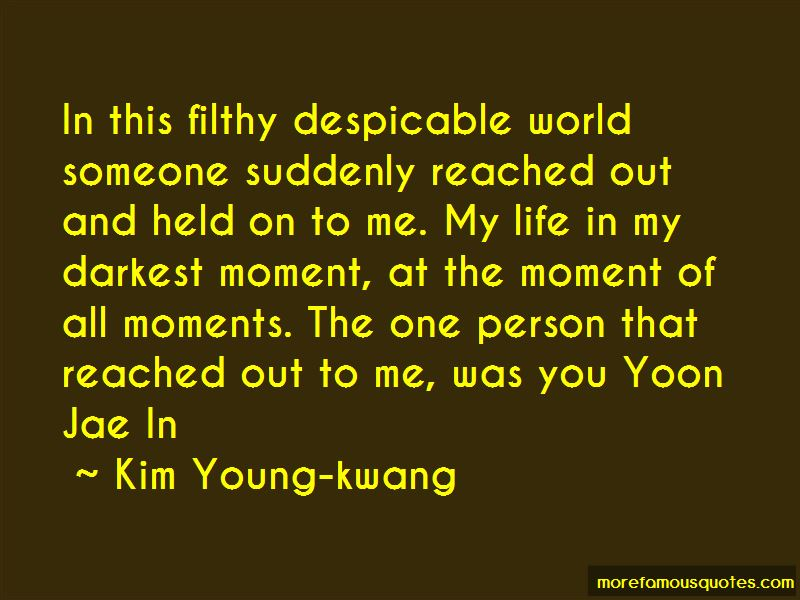 Kim Young-kwang Quotes Pictures 4