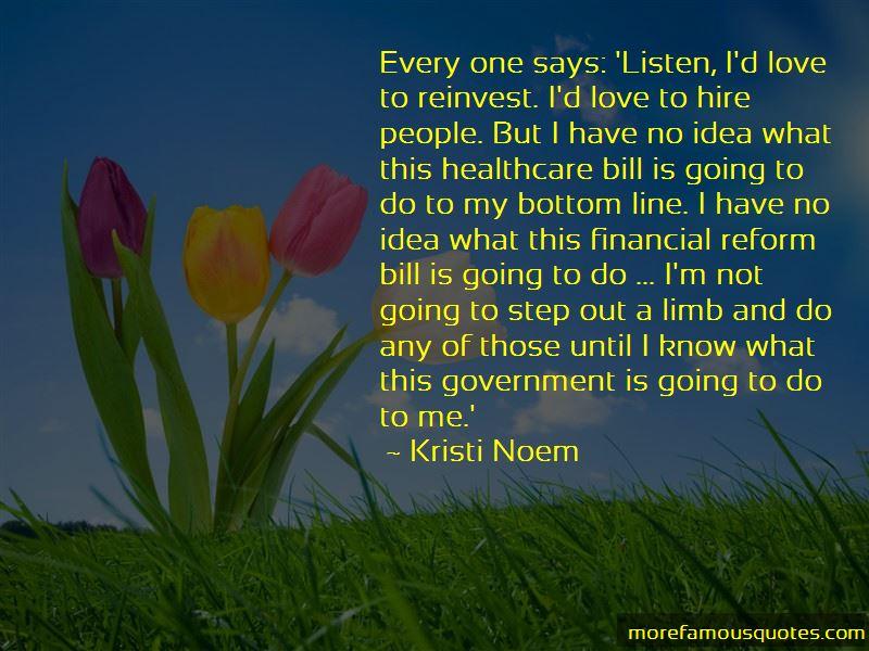 Kristi Noem Quotes