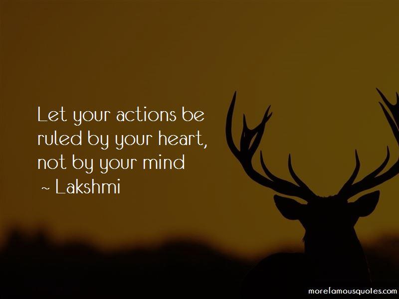 Lakshmi Quotes