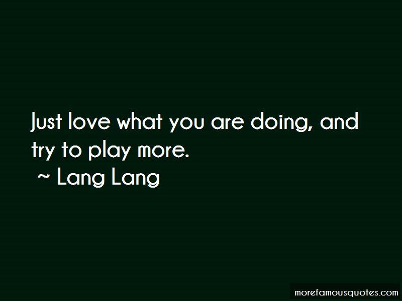 Lang Lang Quotes