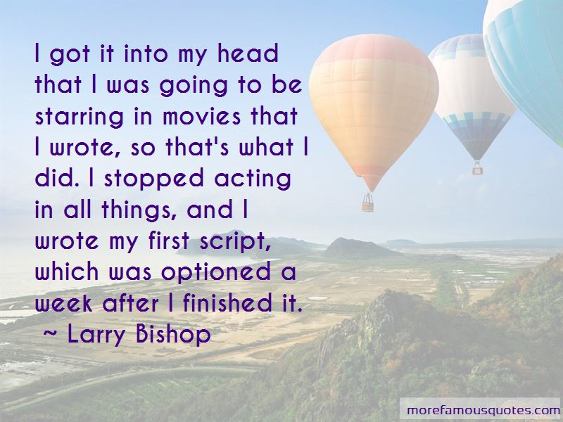 Larry Bishop Quotes Pictures 3