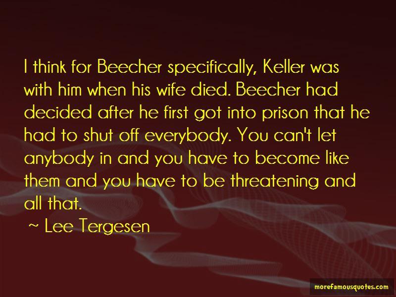 Lee Tergesen Quotes Pictures 2