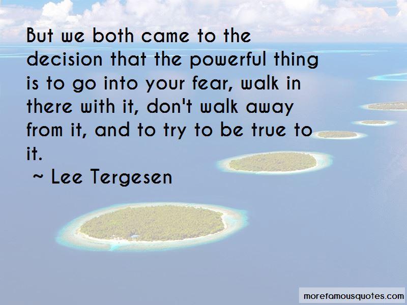 Lee Tergesen Quotes