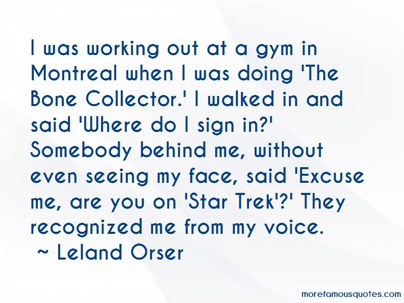Leland Orser Quotes Pictures 2