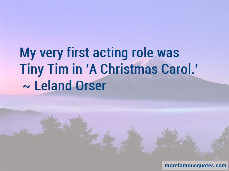 Leland Orser Quotes Pictures 3