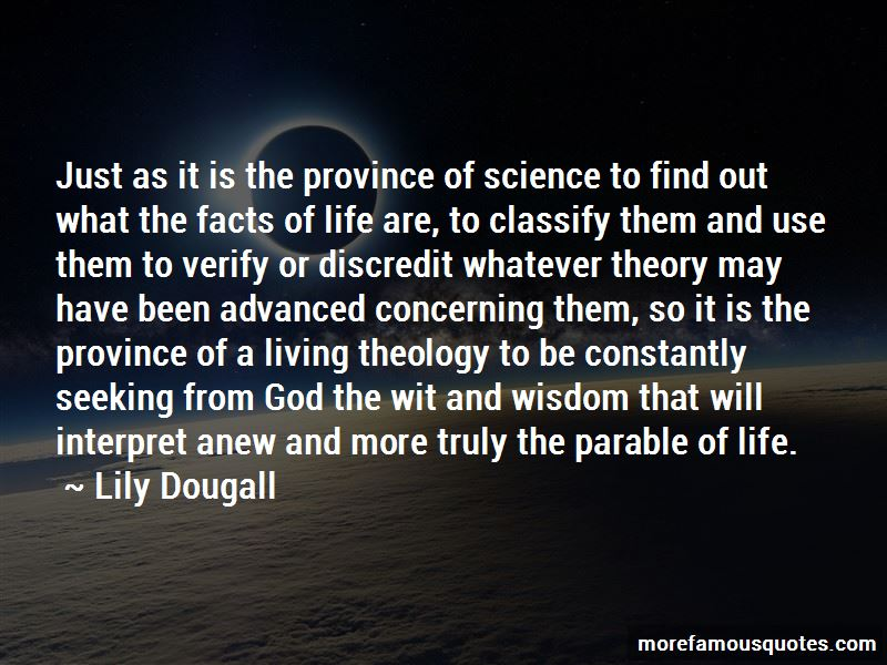 Lily Dougall Quotes