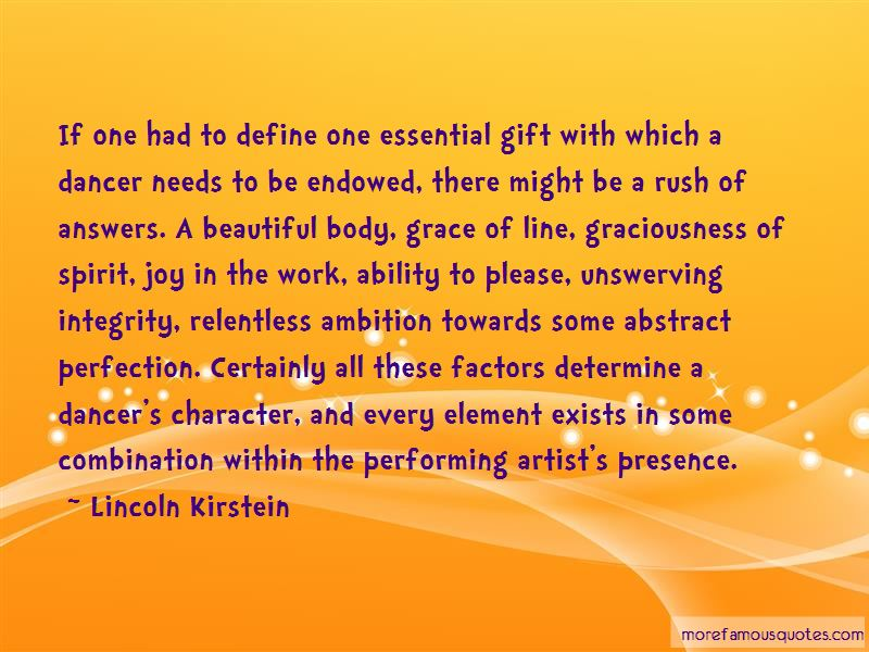 Lincoln Kirstein Quotes Pictures 4