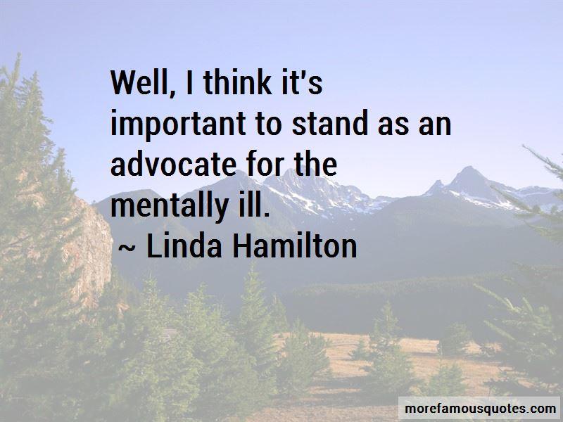 Linda Hamilton Quotes Pictures 2