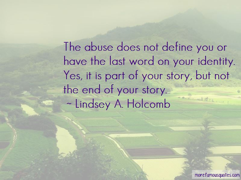 Lindsey A. Holcomb Quotes Pictures 3