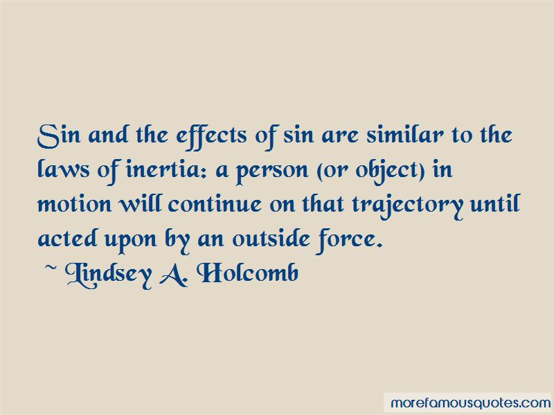Lindsey A. Holcomb Quotes