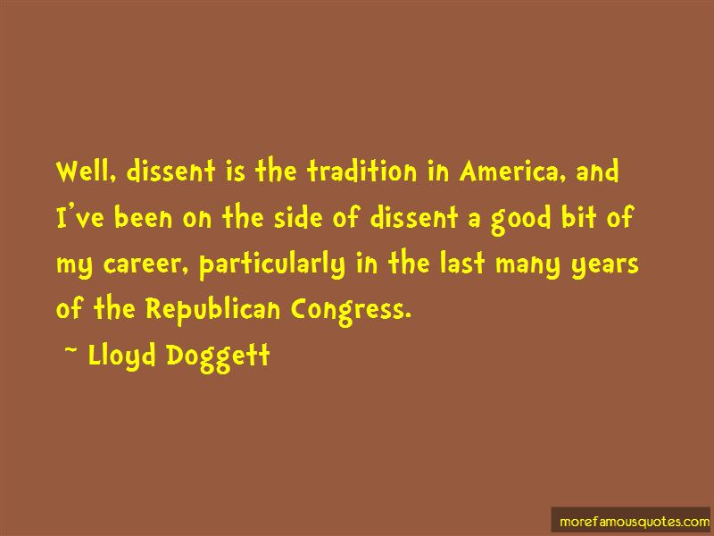 Lloyd Doggett Quotes Pictures 2
