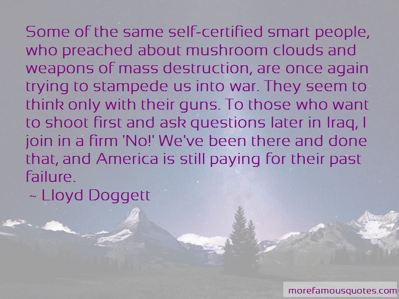 Lloyd Doggett Quotes