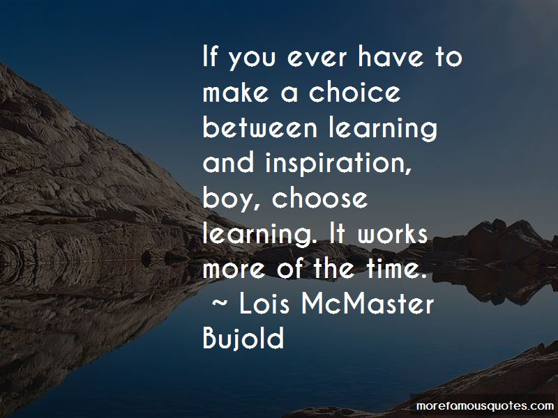 Lois McMaster Bujold Quotes Pictures 4