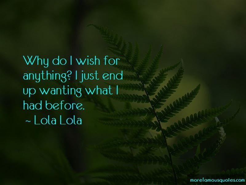 Lola Lola Quotes Pictures 2
