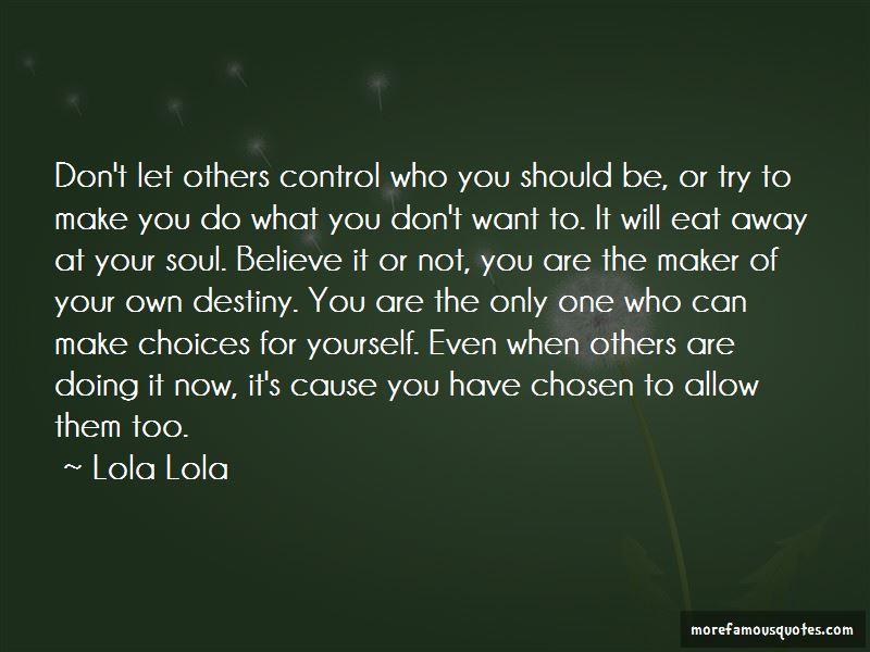 Lola Lola Quotes