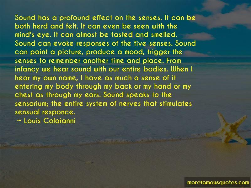 Louis Colaianni Quotes