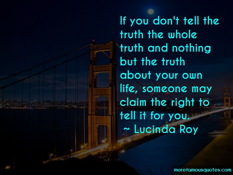 Lucinda Roy Quotes Pictures 2