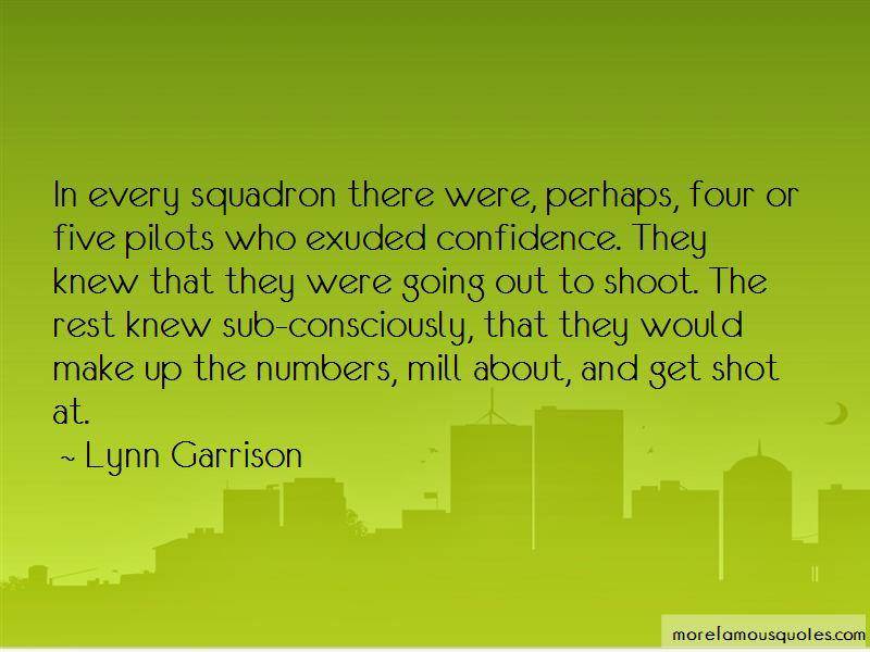 Lynn Garrison Quotes