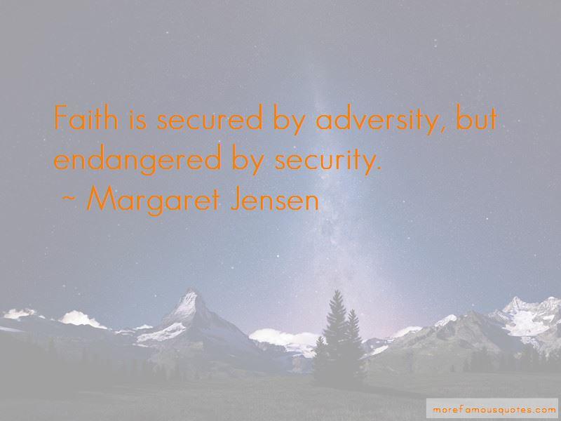 Margaret Jensen Quotes