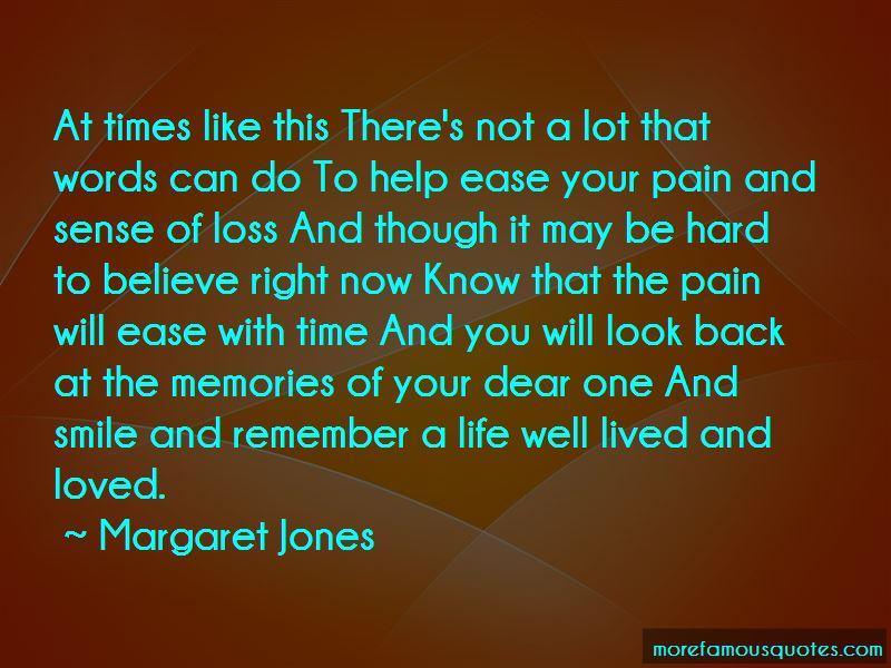 Margaret Jones Quotes