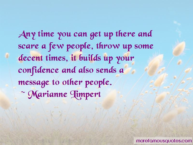 Marianne Limpert Quotes