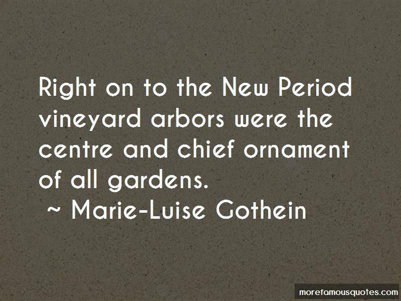 Marie-Luise Gothein Quotes Pictures 2