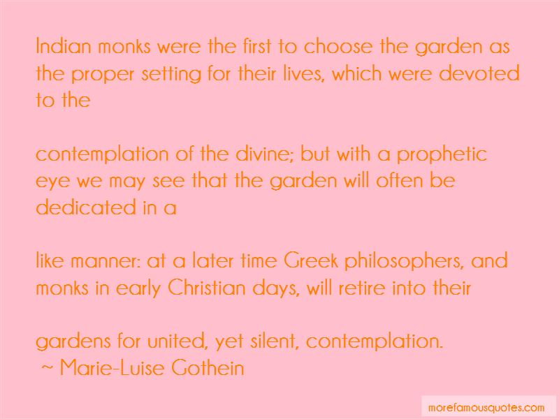 Marie-Luise Gothein Quotes Pictures 3