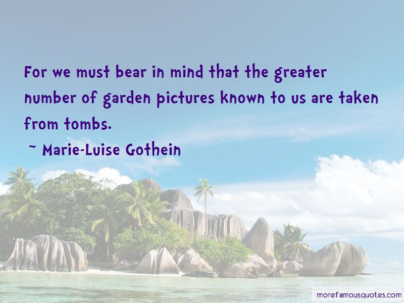 Marie-Luise Gothein Quotes Pictures 4