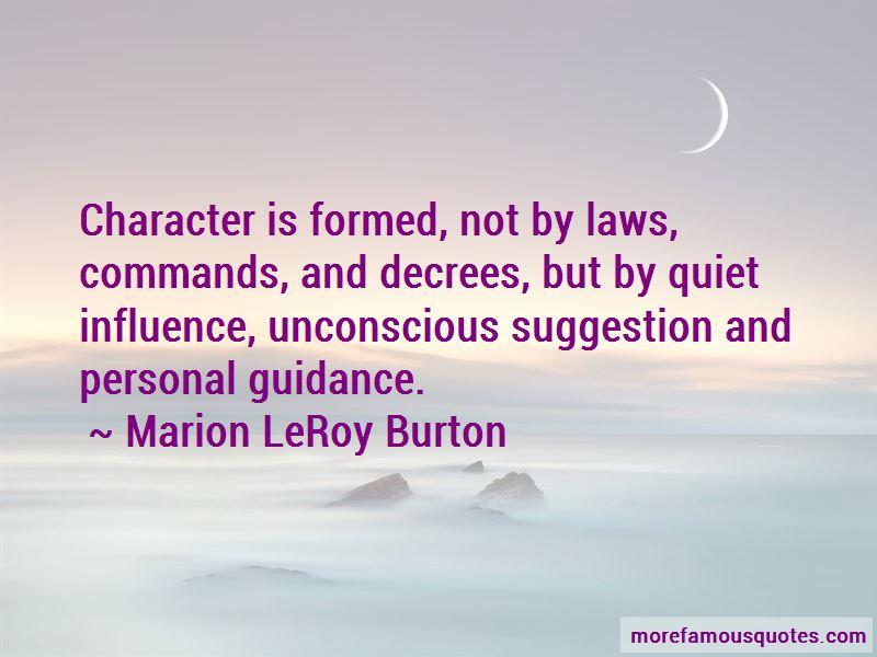Marion LeRoy Burton Quotes Pictures 3