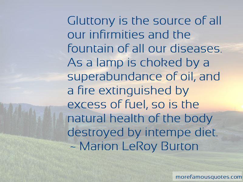 Marion LeRoy Burton Quotes