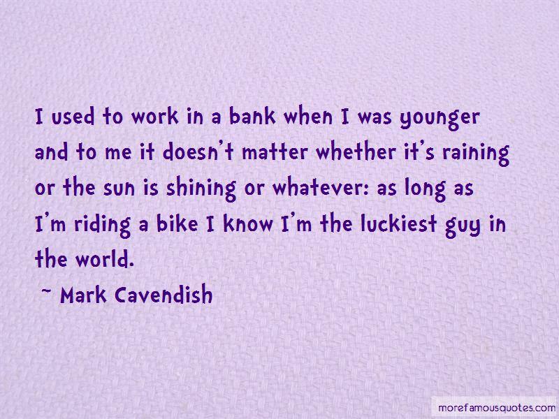 Mark Cavendish Quotes