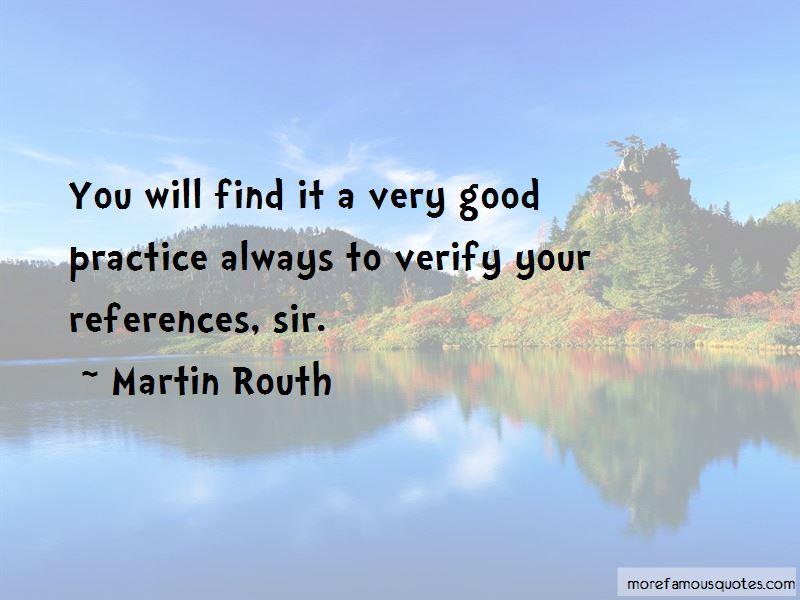 Martin Routh Quotes Pictures 3