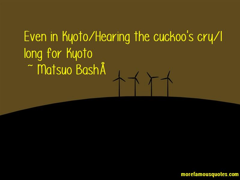 Matsuo Bashō Quotes Pictures 3