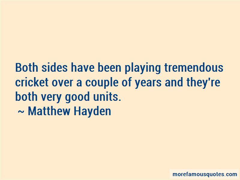 Matthew Hayden Quotes Pictures 2
