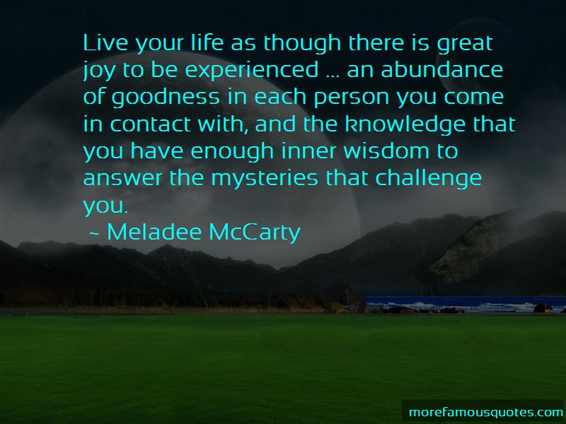 Meladee McCarty Quotes Pictures 3