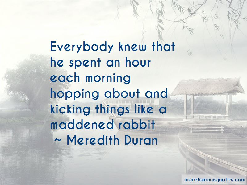 Meredith Duran Quotes