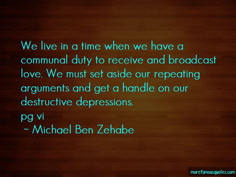 Michael Ben Zehabe Quotes Pictures 2