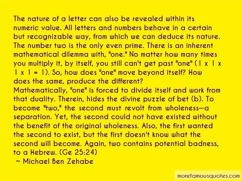 Michael Ben Zehabe Quotes Pictures 3