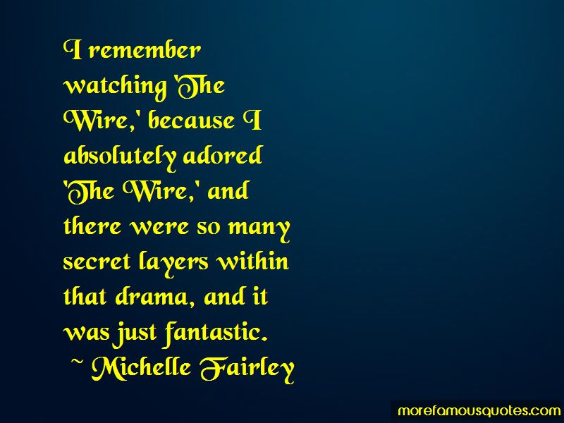 Michelle Fairley Quotes Pictures 4