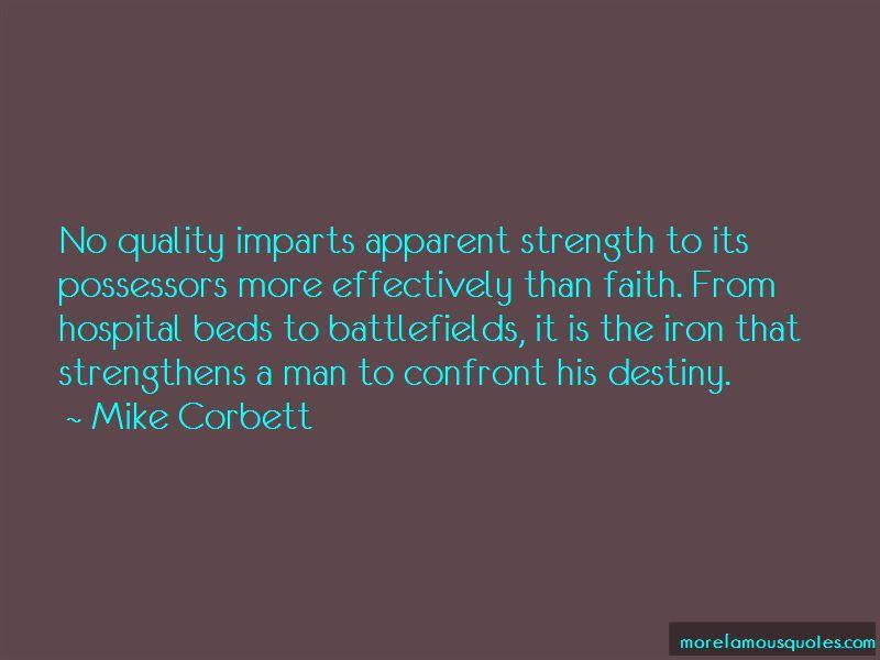 Mike Corbett Quotes
