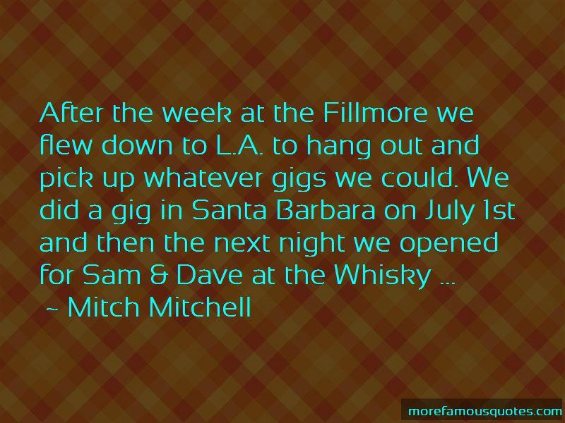 Mitch Mitchell Quotes