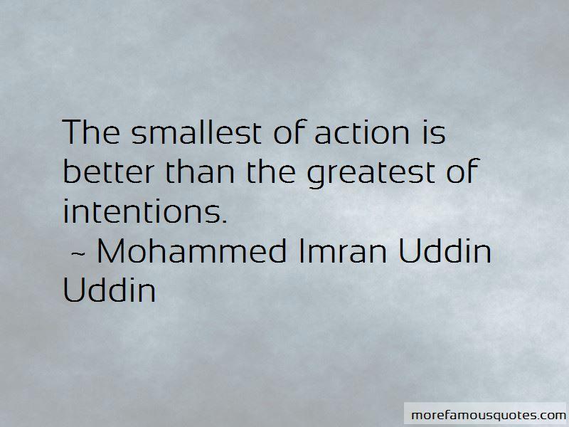 Mohammed Imran Uddin Uddin Quotes