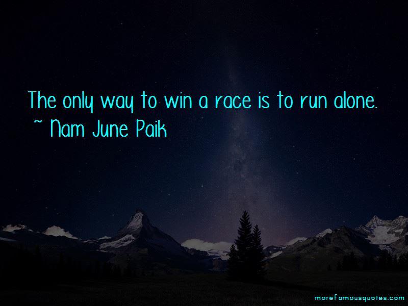Nam June Paik Quotes
