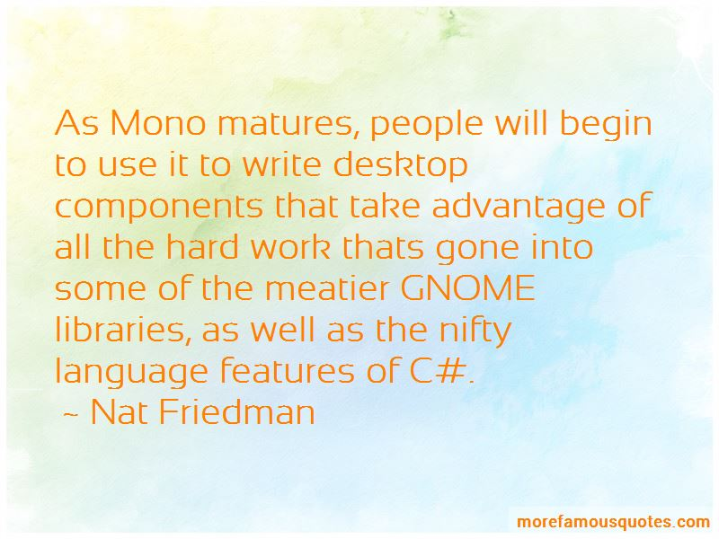 Nat Friedman Quotes Pictures 3