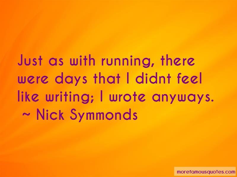 Nick Symmonds Quotes