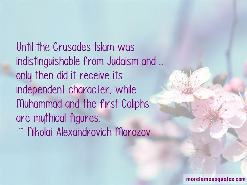 Nikolai Alexandrovich Morozov Quotes