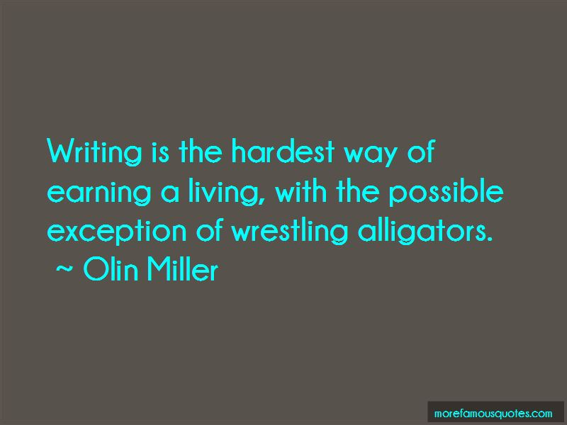 Olin Miller Quotes Pictures 3