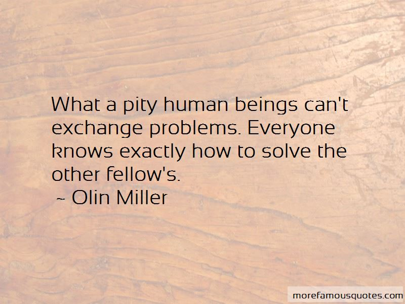 Olin Miller Quotes Pictures 4