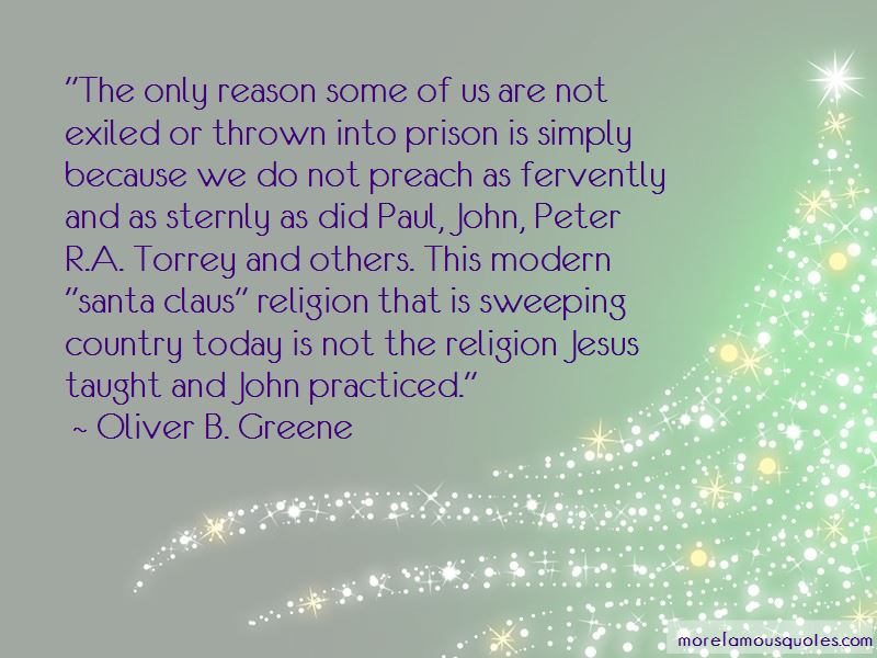 Oliver B. Greene Quotes Pictures 3
