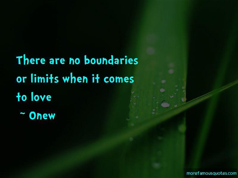Onew Quotes